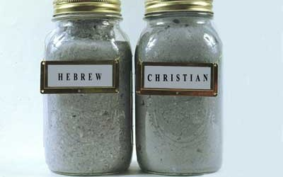 Canned Testaments, 1993 Bibles blended into pulp & canned under pressure
